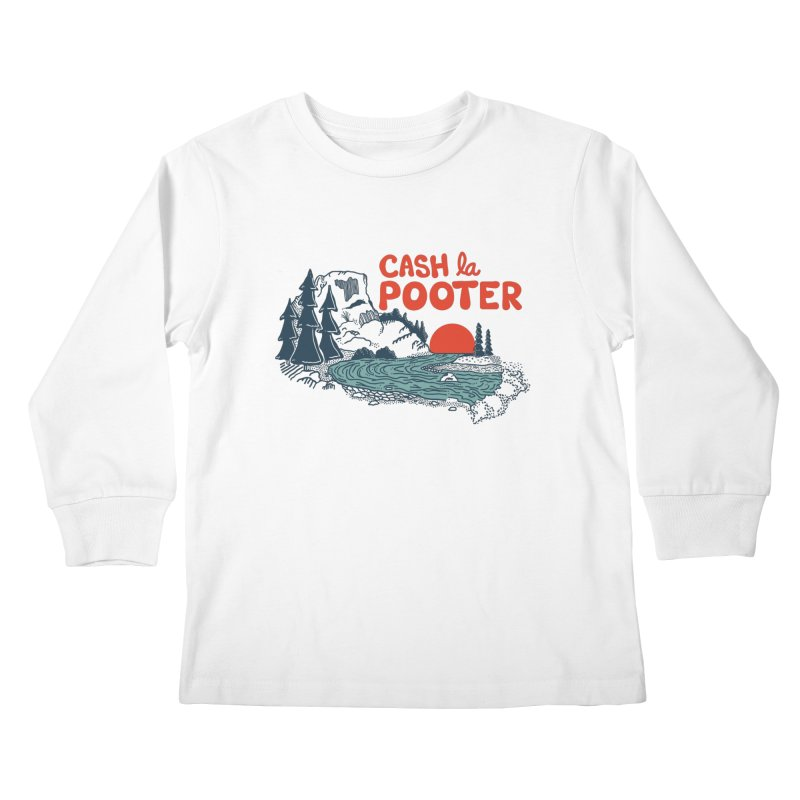 Cash La Pooter Kids Longsleeve T-Shirt by Steger