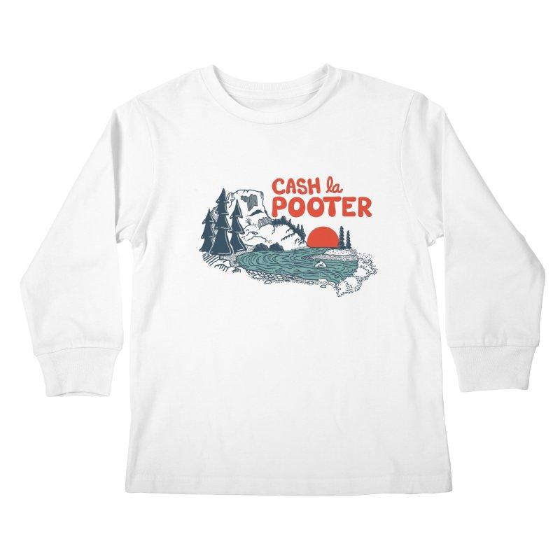 Cash La Pooter Kids Longsleeve T-Shirt by Steger