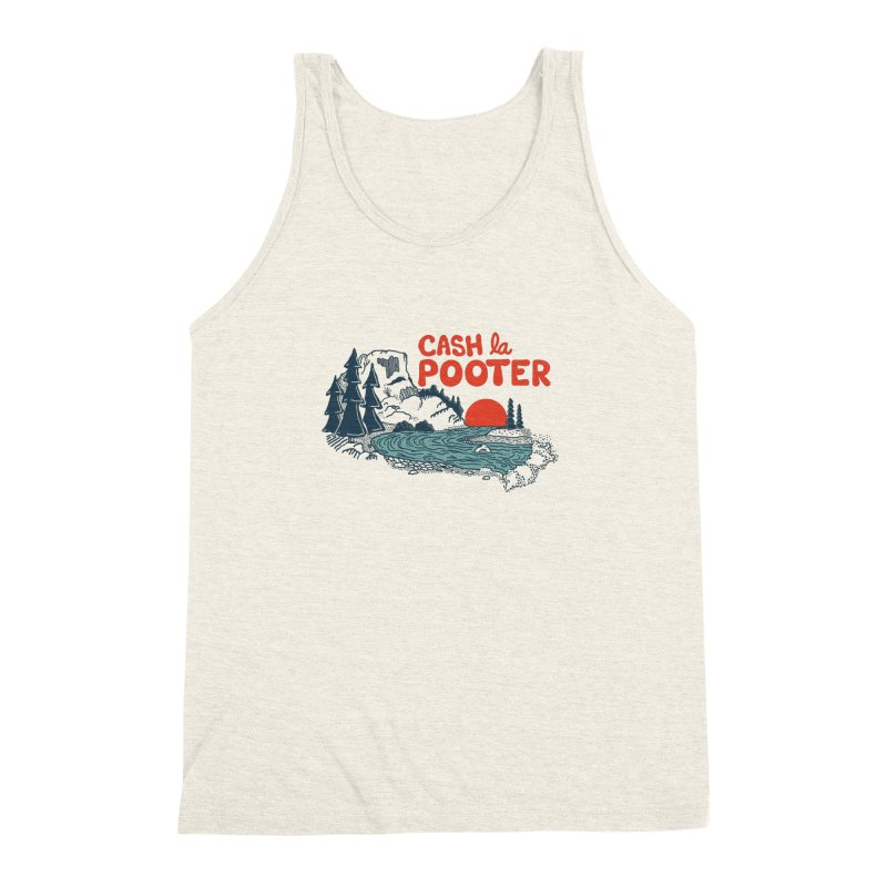 Cash La Pooter Men's Triblend Tank by Steger