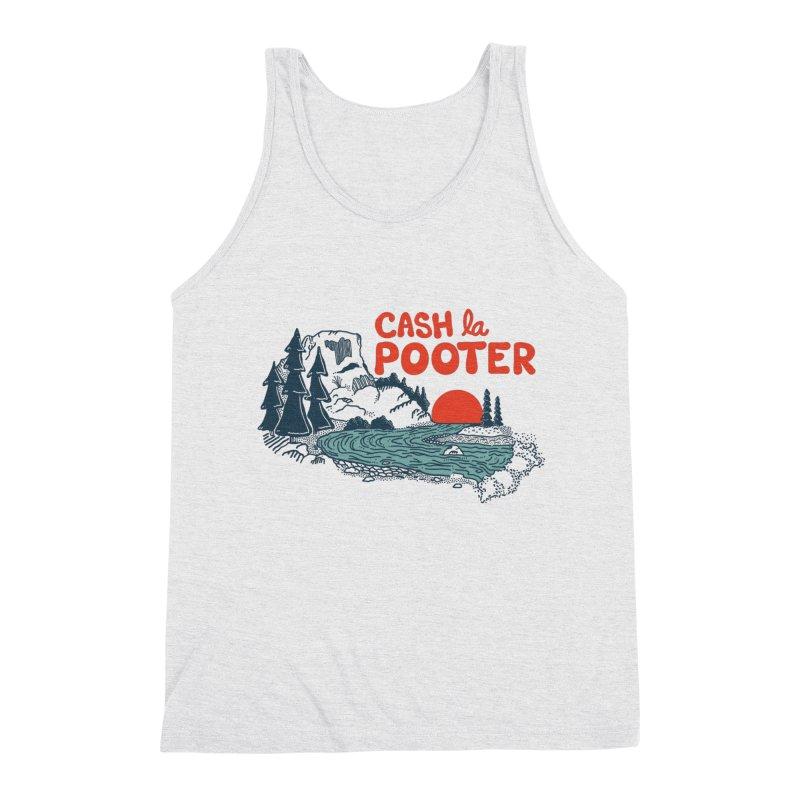 Cash La Pooter Men's Triblend Tank by Steger