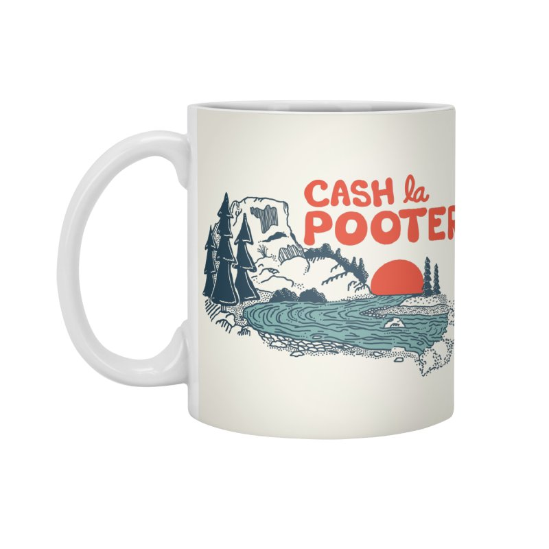 Cash La Pooter Accessories Standard Mug by Steger