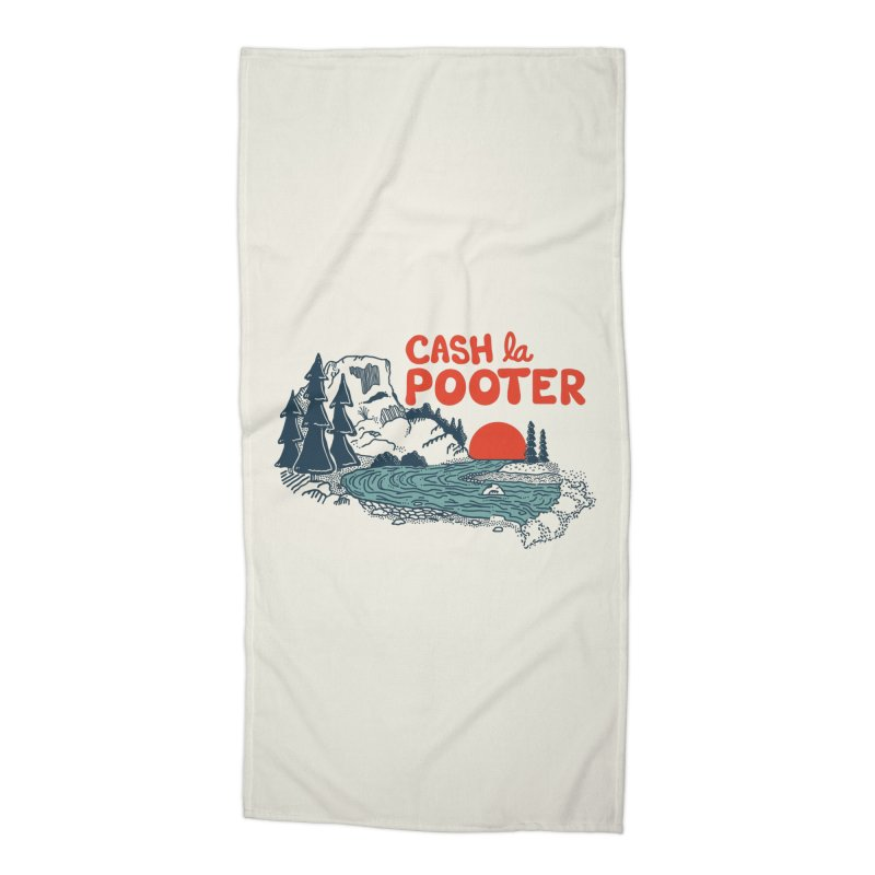 Cash La Pooter Accessories Beach Towel by Steger