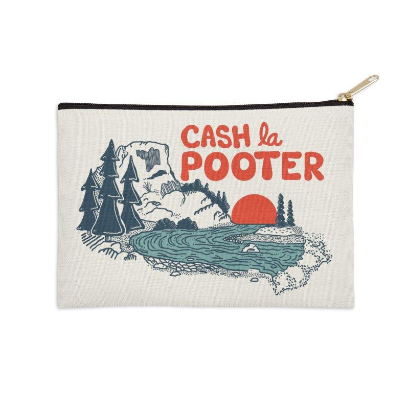 Cash La Pooter Accessories Zip Pouch by Steger