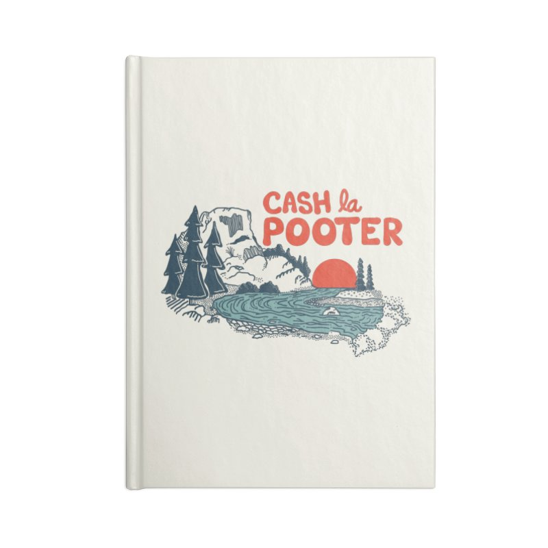 Cash La Pooter Accessories Blank Journal Notebook by Steger