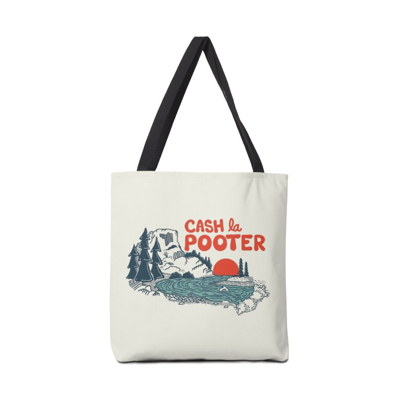 Cash La Pooter Accessories Tote Bag Bag by Steger