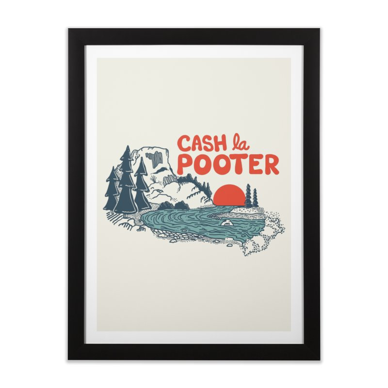Cash La Pooter Home Framed Fine Art Print by Steger