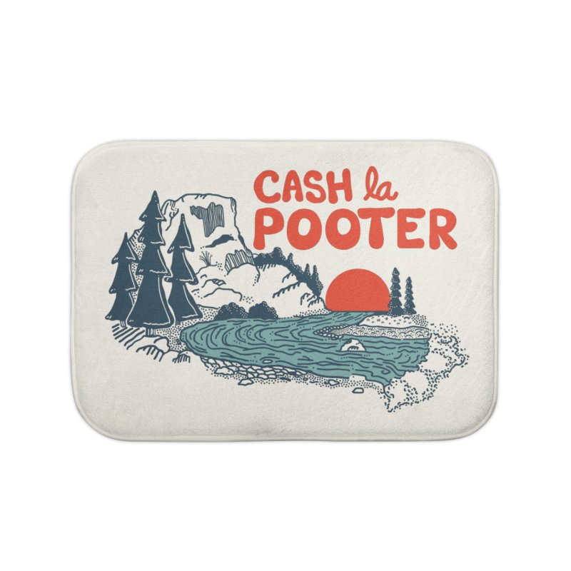 Cash La Pooter Home Bath Mat by Steger