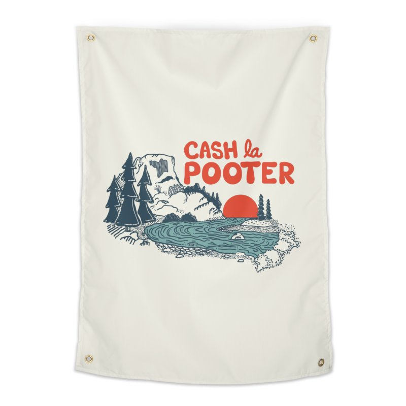 Cash La Pooter Home Tapestry by Steger