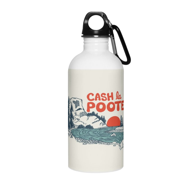Cash La Pooter Accessories Water Bottle by Steger