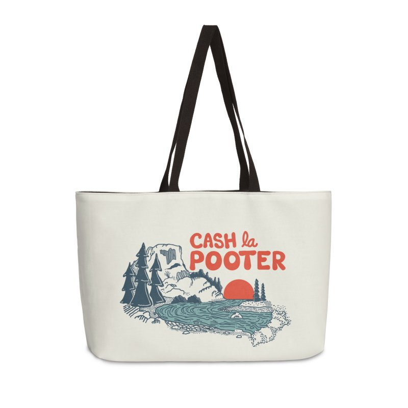 Cash La Pooter in Weekender Bag by Steger