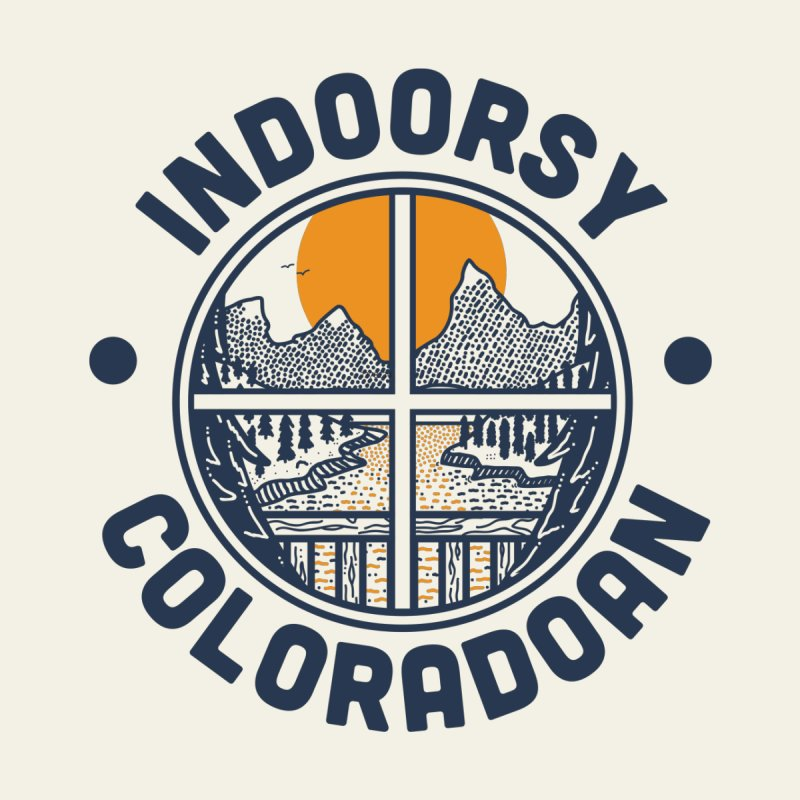 Indoorsy Coloradoan Kids Baby T-Shirt by Steger