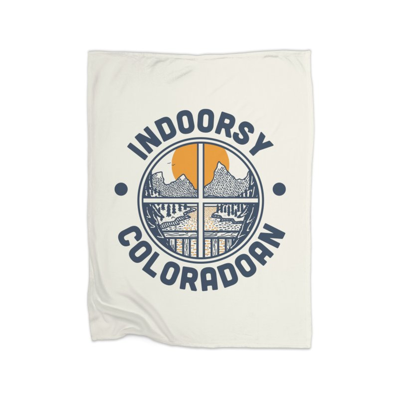 Indoorsy Coloradoan Home Fleece Blanket Blanket by Steger