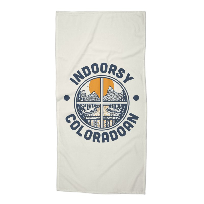 Indoorsy Coloradoan Accessories Beach Towel by Steger