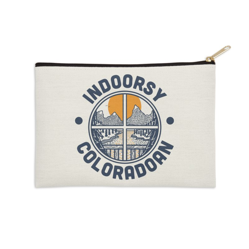 Indoorsy Coloradoan Accessories Zip Pouch by Steger