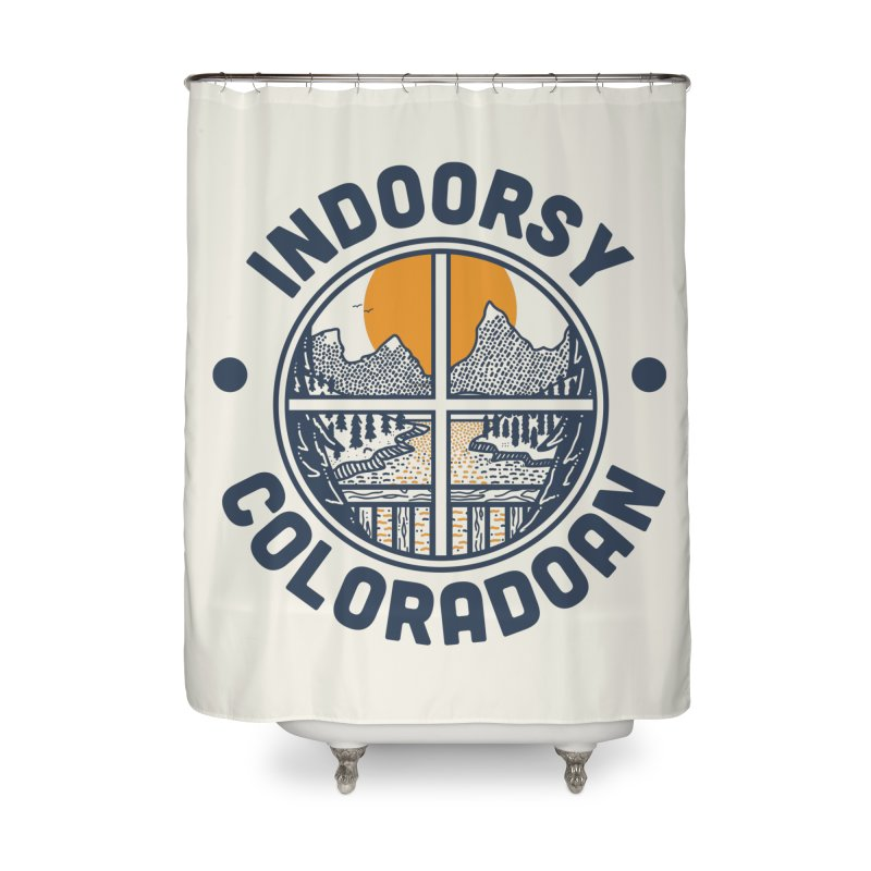 Indoorsy Coloradoan Home Shower Curtain by Steger