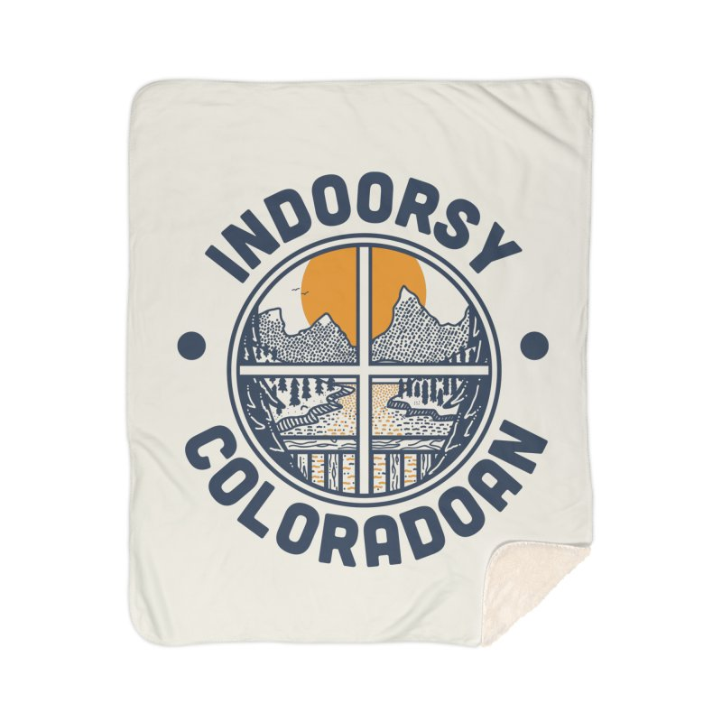 Indoorsy Coloradoan Home Sherpa Blanket Blanket by Steger