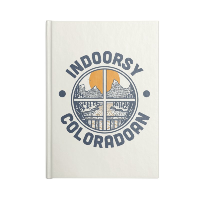 Indoorsy Coloradoan Accessories Lined Journal Notebook by Steger