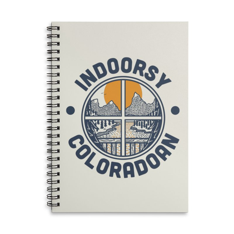 Indoorsy Coloradoan Accessories Lined Spiral Notebook by Steger