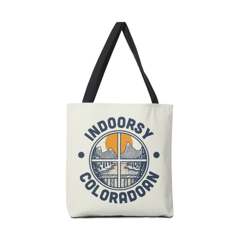 Indoorsy Coloradoan Accessories Tote Bag Bag by Steger