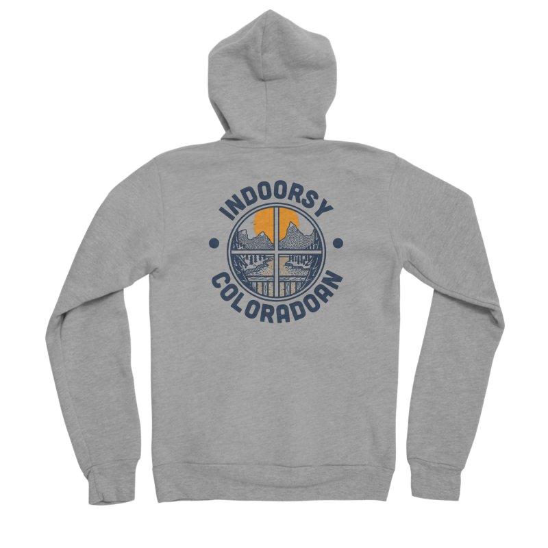Indoorsy Coloradoan Men's Sponge Fleece Zip-Up Hoody by Steger