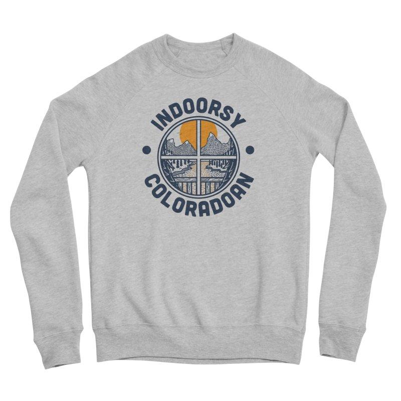 Indoorsy Coloradoan Men's Sponge Fleece Sweatshirt by Steger