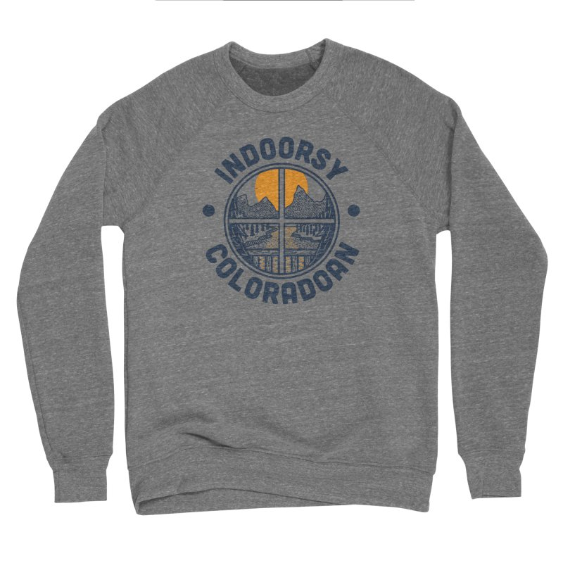 Indoorsy Coloradoan Men's Sponge Fleece Sweatshirt by Steger