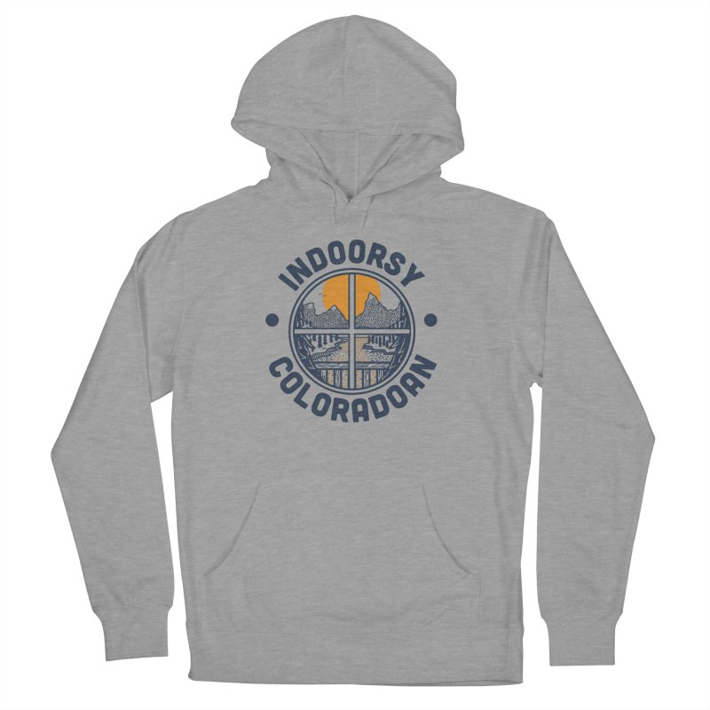 Indoorsy Coloradoan Women's French Terry Pullover Hoody by Steger