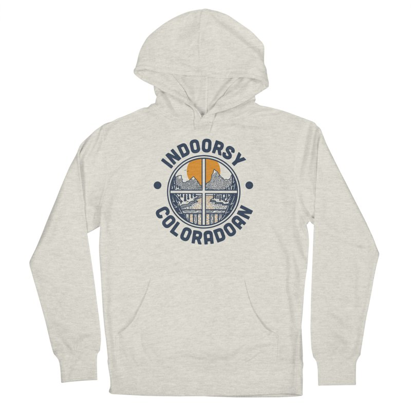 Indoorsy Coloradoan Men's French Terry Pullover Hoody by Steger