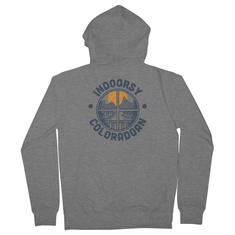 Indoorsy Coloradoan Women's French Terry Zip-Up Hoody by Steger