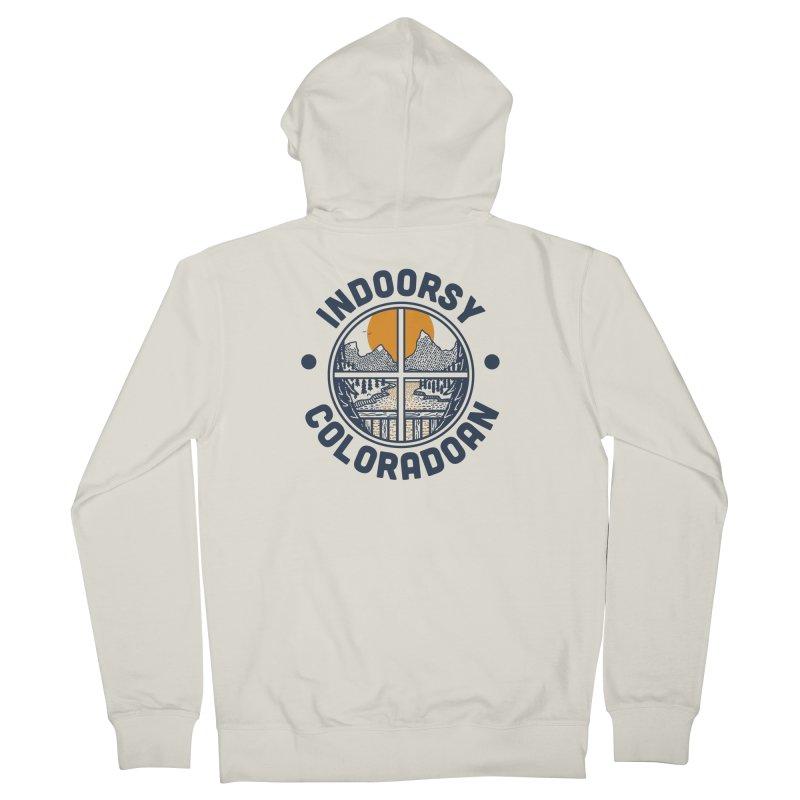 Indoorsy Coloradoan Men's Zip-Up Hoody by Steger
