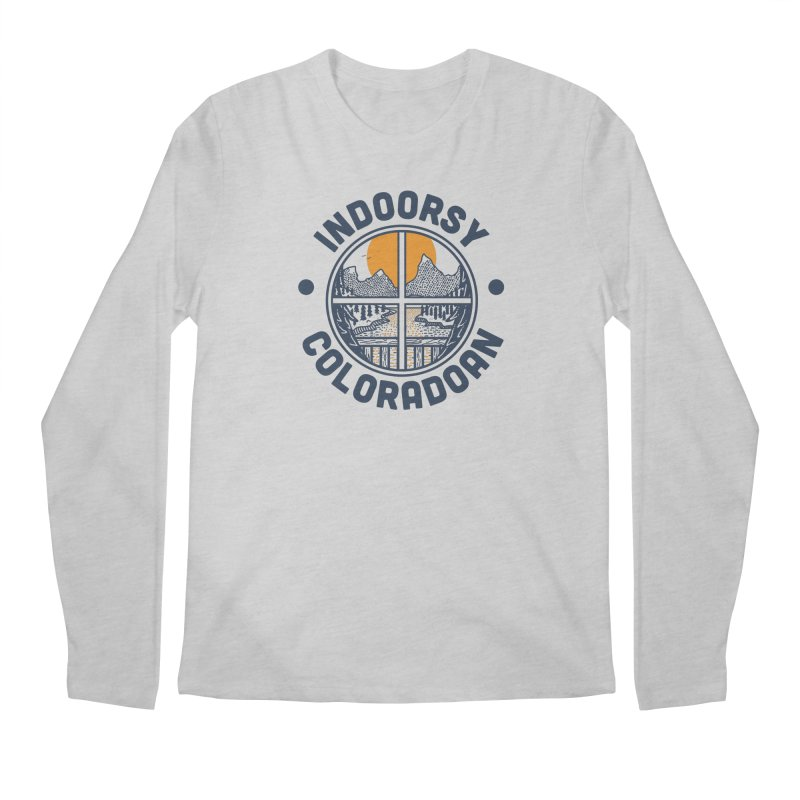 Indoorsy Coloradoan Men's Regular Longsleeve T-Shirt by Steger