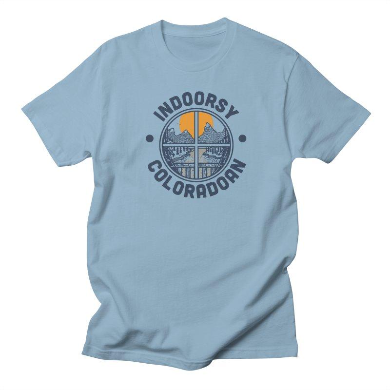 Indoorsy Coloradoan Women's Regular Unisex T-Shirt by Steger