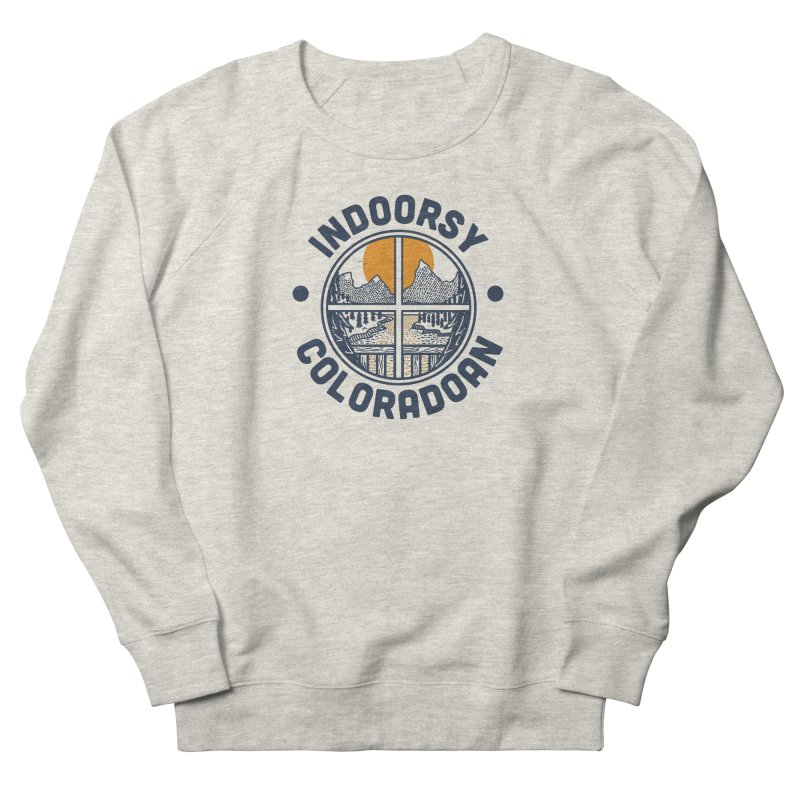 Indoorsy Coloradoan Women's French Terry Sweatshirt by Steger