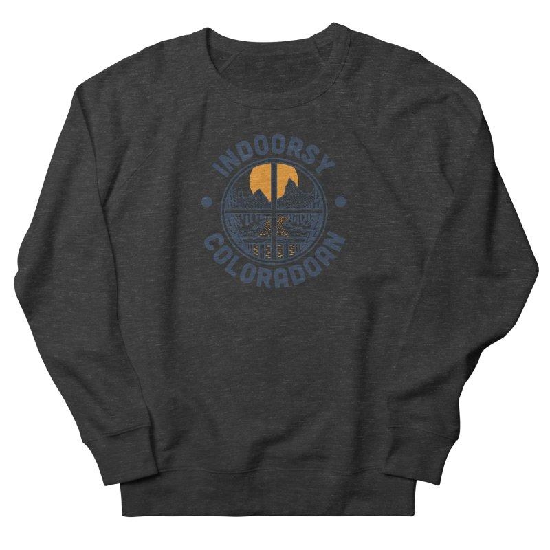 Indoorsy Coloradoan Men's French Terry Sweatshirt by Steger