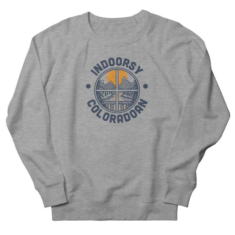 Indoorsy Coloradoan Men's French Terry Sweatshirt by Steger