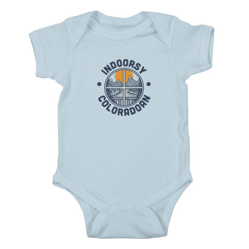 Indoorsy Coloradoan Kids Baby Bodysuit by Steger