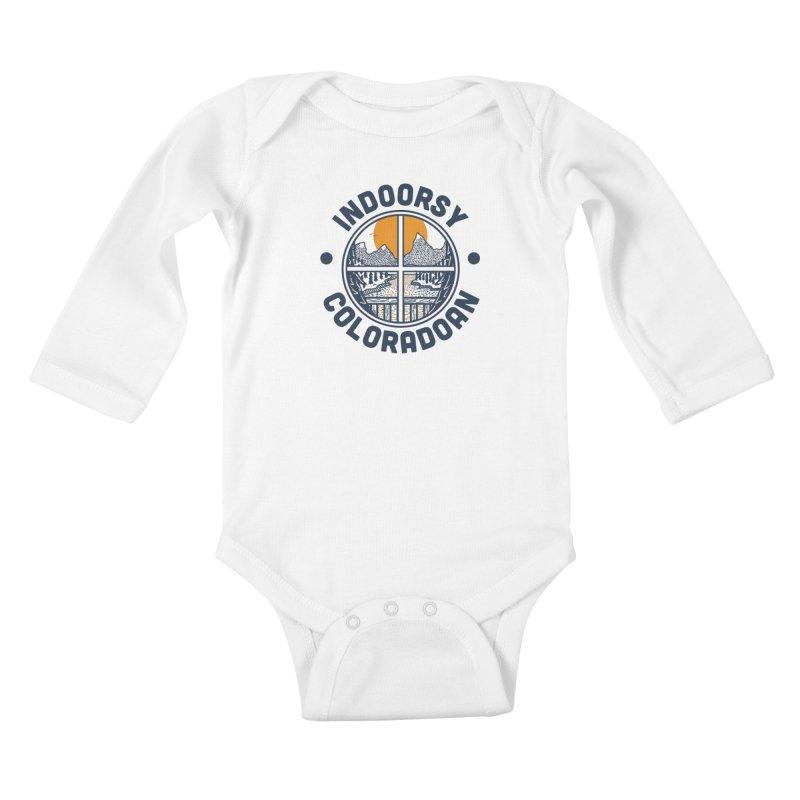Indoorsy Coloradoan Kids Baby Longsleeve Bodysuit by Steger