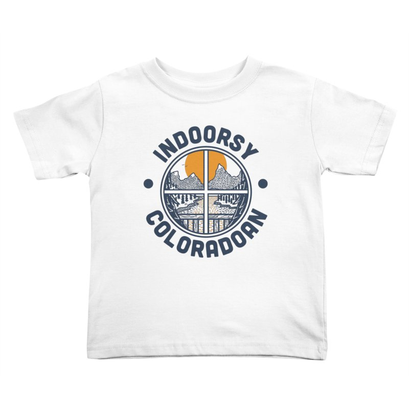 Indoorsy Coloradoan Kids Toddler T-Shirt by Steger