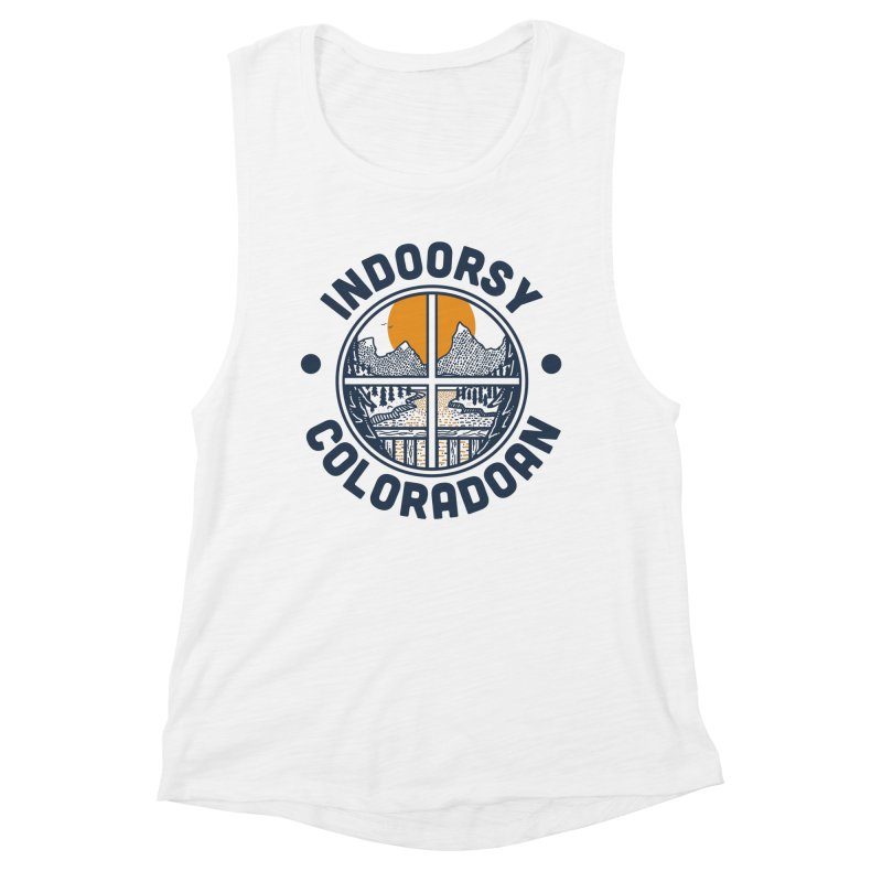 Indoorsy Coloradoan Women's Muscle Tank by Steger