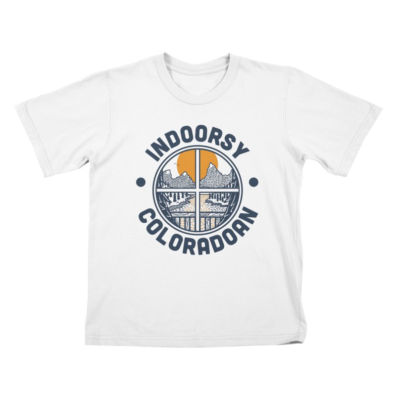 Indoorsy Coloradoan Kids T-Shirt by Steger