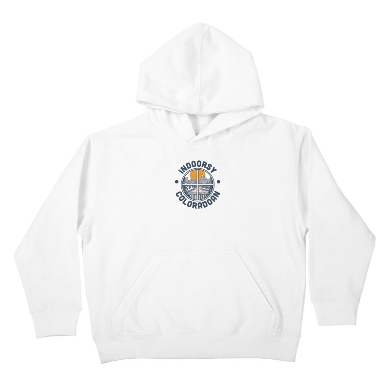 Indoorsy Coloradoan Kids Pullover Hoody by Steger