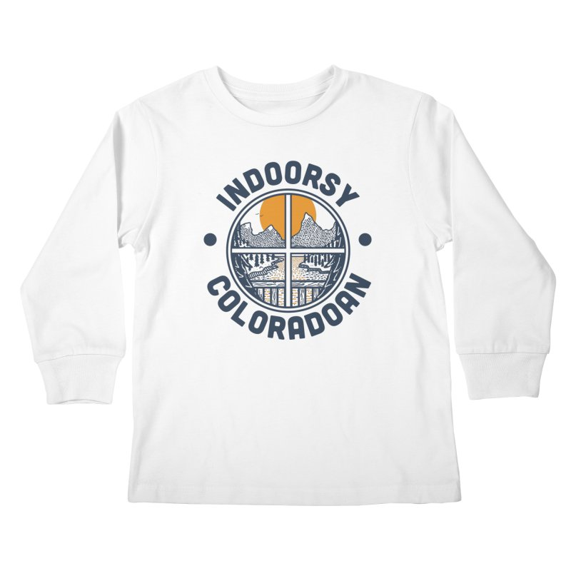 Indoorsy Coloradoan Kids Longsleeve T-Shirt by Steger
