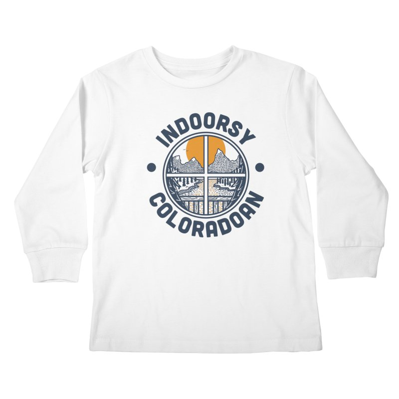 Indoorsy Coloradoan Kids Longsleeve T-Shirt by Steger
