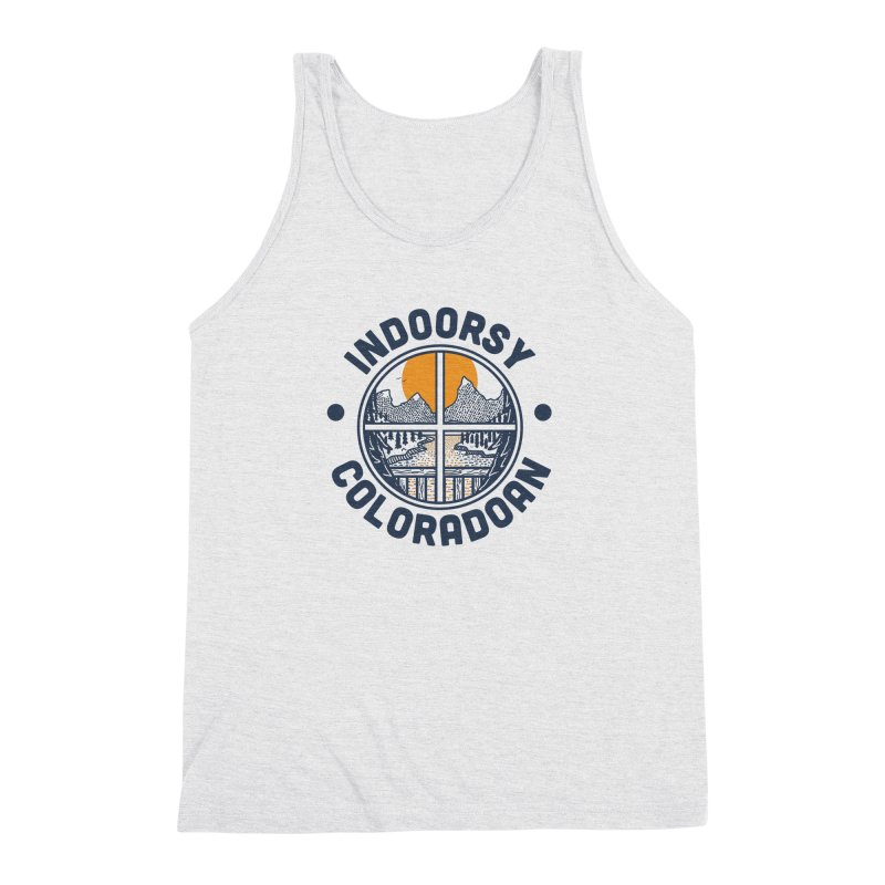 Indoorsy Coloradoan Men's Triblend Tank by Steger