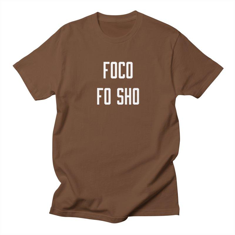 FOCO FO SHO Women's Regular Unisex T-Shirt by Steger