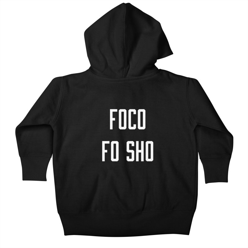 FOCO FO SHO Kids Baby Zip-Up Hoody by Steger