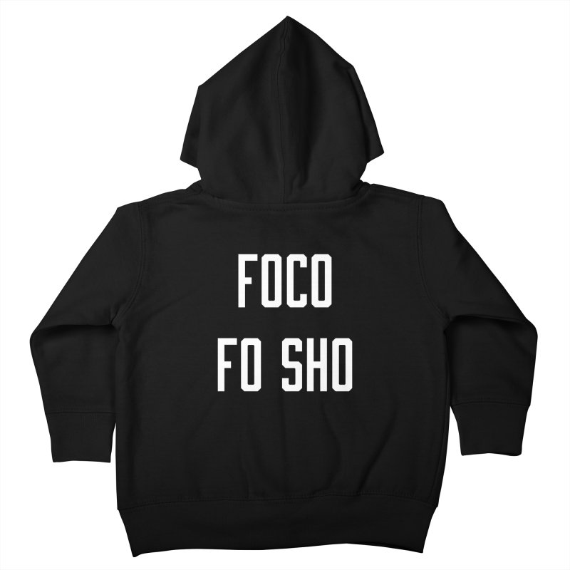 FOCO FO SHO Kids Toddler Zip-Up Hoody by Steger