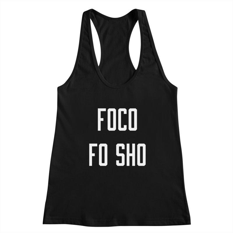 FOCO FO SHO Women's Racerback Tank by Steger