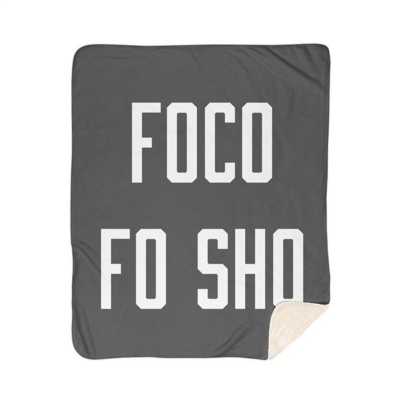 FOCO FO SHO Home Sherpa Blanket Blanket by Steger