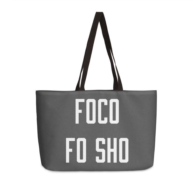 FOCO FO SHO Accessories Weekender Bag Bag by Steger